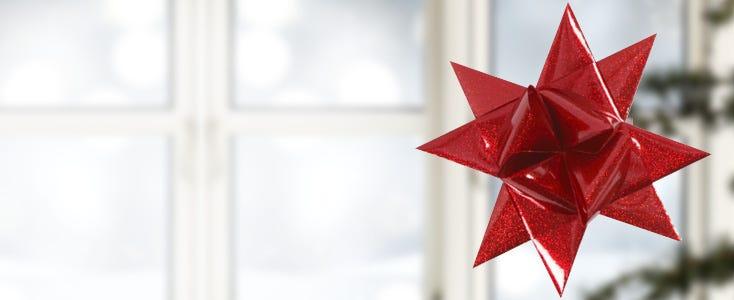 Woven German stars