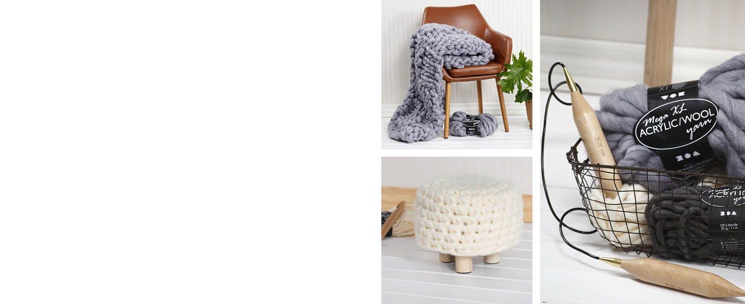 DIY with chunky yarn