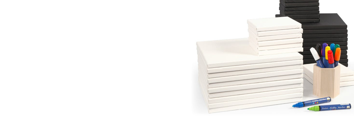 Canvases and Frames | See our many craft products here