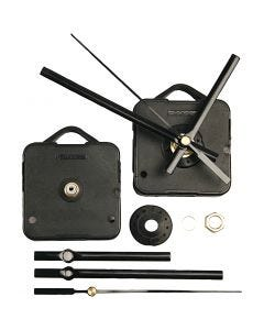 Clockwork Mechanics, plate max thickness 10 mm, black, 1 set