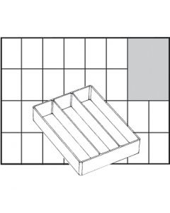 Insert Box, no. A73 Low, H: 24 mm, size 109x79 mm, 1 pc