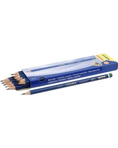 Robinson Pencils, D: 6,8 mm, hardness H, lead 2 mm, 12 pc/ 1 pack