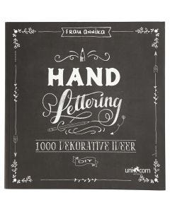 Hand Lettering - 1000 Ideas, size 22x23 cm, thickness 2 cm, 143 , 1 pc