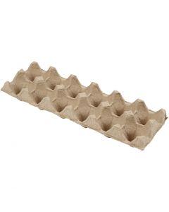 Egg boxes, H: 5 cm, L: 30,5 cm, W: 11 cm, 3 pc/ 1 pack
