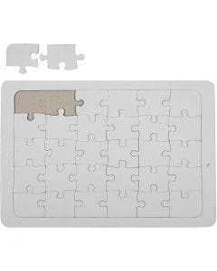 Jigsaw Puzzle, white, 10 pc/ 1 pack