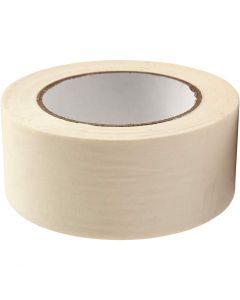 Masking Tape, W: 50 mm, 50 m/ 1 roll