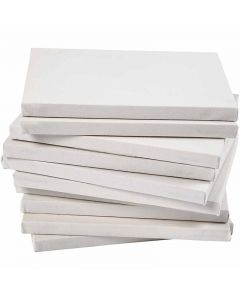 Stretched Canvas, A4, size 21x29,7 cm, 280 g, white, 40 pc/ 1 pack