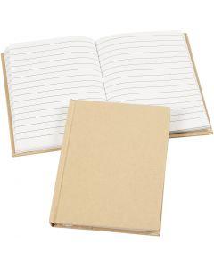 Notebook, A6, 60 g, brown, 1 pc