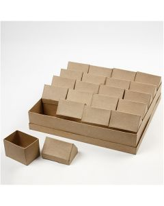 House, H: 10,5 cm, size 6x8,5 cm, 20 pc/ 1 pack