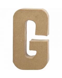 Letter, G, H: 20,5 cm, W: 11,5 cm, thickness 2,5 cm, 1 pc