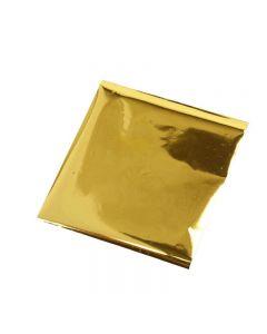 Art and Craft Foil, 10x10 cm, gold, 30 sheet/ 1 pack