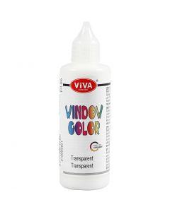 Viva Decor Window Color, transparent, 90 ml/ 1 bottle