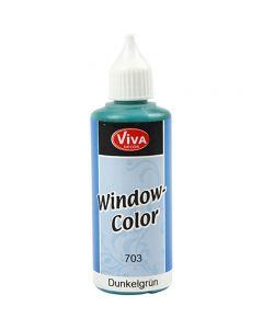 Viva Decor Window Color, dark green, 80 ml/ 1 bottle