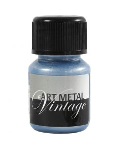 Art Metalic Paint, pearl blue, 30 ml/ 1 bottle
