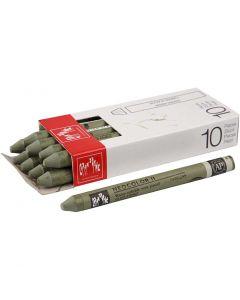 Neocolor II, L: 10 cm, olive (249), 10 pc/ 1 pack