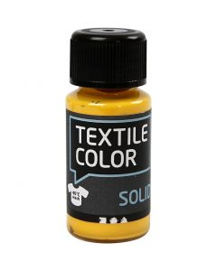 Textile Solid, opaque, yellow, 50 ml/ 1 bottle