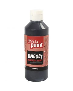 Magnetic Paint, black, 250 ml/ 1 bottle