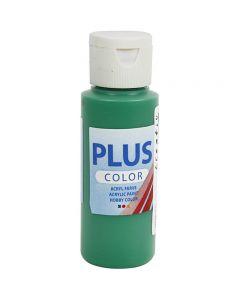 Plus Color Craft Paint, brilliant green, 60 ml/ 1 bottle