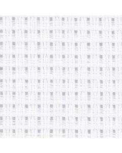 Aida Fabric, size 50x50 cm, 24 squares per 10 cm , white, 1 pc