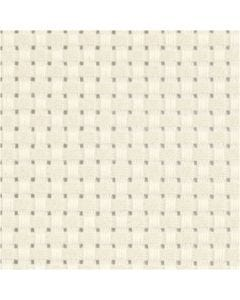 Aida Fabric, W: 150 cm, 35 squares per 10cm , off-white, 3 m/ 1 pc