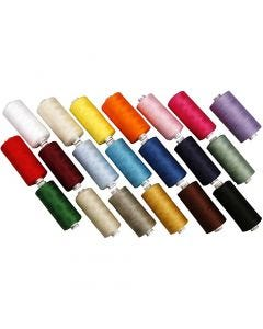 Sewing Thread, 20x1000 m/ 1 pack