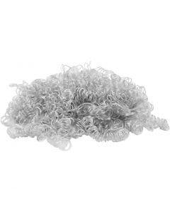 Curly Hair, light grey, 15 g/ 1 pack