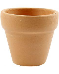 Flower Pots, H: 4,2 cm, D: 5 cm, 48 pc/ 1 box