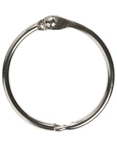 Book Ring, D: 32 mm, thickness 2,7 mm, 8 pc/ 1 pack