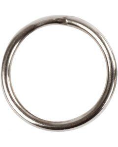 Key Chain, D: 12 mm, 10 pc/ 1 pack