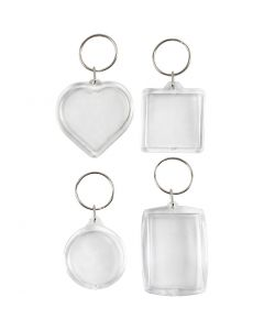 Key Rings, size 40-50 mm, 4 pc/ 1 pack
