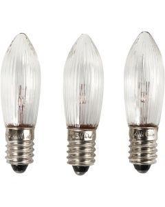 LED bulbs, H: 45 mm, D: 15 mm, 3 pc/ 1 pack
