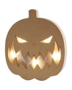 Pumpkin Light, H: 25 cm, W: 22 cm, 1 pc