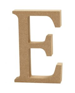 Letter, E, H: 8 cm, thickness 1,5 cm, 1 pc