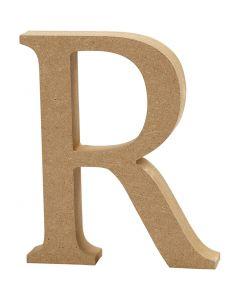 Letter, R, H: 8 cm, thickness 1,5 cm, 1 pc