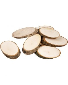 Wooden Discs, thickness 8 mm, 20 pc/ 1 pack