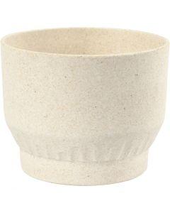 Bowl, H: 9,3 cm, D: 12 cm, 1 pc