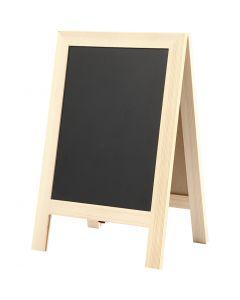 Sandwich blackboard, H: 30 cm, W: 19 cm, 1 pc