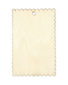 Sign, size 8x5,2 cm, thickness 3 mm, 8 pc/ 1 pack