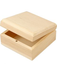 Jewellery Box, size 9x9x5 cm, 8 pc/ 1 pack