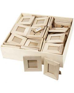 Frames, size 10x10+9x11 cm, 80 pc/ 1 pack