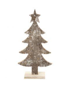 Christmas tree, H: 18 cm, W: 9 cm, 1 pc
