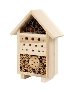 Insect Hotel, H: 26,1 cm, W: 18,4 cm, 1 pc