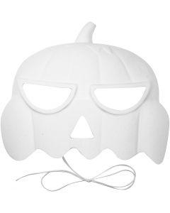 Pumpkin Masks, H: 15 cm, W: 19 cm, 1 pc