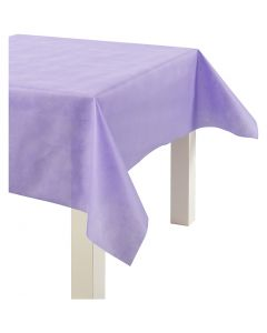 Imitation Fabric Table Cloth, W: 125 cm, 70 g, purple, 10 m/ 1 roll