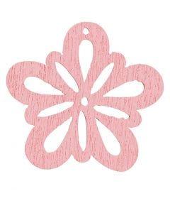 Flower, D: 27 mm, rose, 20 pc/ 1 pack