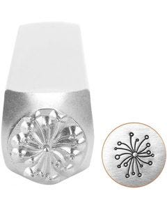 Embossing Stamp, Dandelion, L: 65 mm, size 6 mm, 1 pc