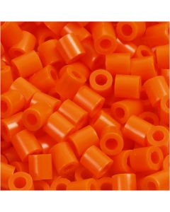 PhotoPearls, size 5x5 mm, hole size 2,5 mm, clear orange (13), 6000 pc/ 1 pack