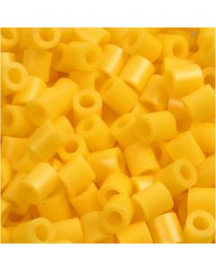 PhotoPearls, size 5x5 mm, hole size 2,5 mm, yellow (14), 6000 pc/ 1 pack