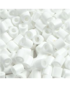 PhotoPearls, size 5x5 mm, hole size 2,5 mm, white (15), 1100 pc/ 1 pack