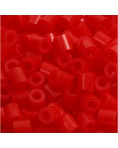 PhotoPearls, size 5x5 mm, hole size 2,5 mm, light red (19), 1100 pc/ 1 pack